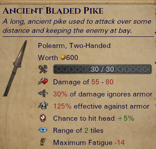 Ancient Bladed Pike