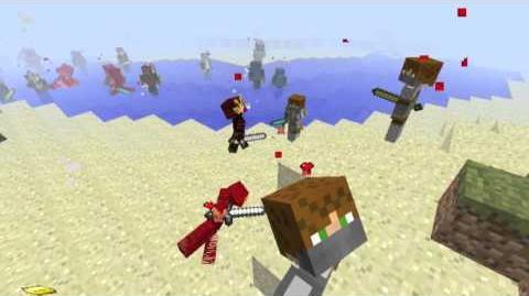 Minecraft- 100 Knights vs. 100 Samurai