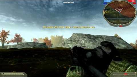 Battlefield 2 - Стрельба из L96A1