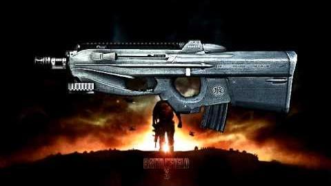 Battlefield 3 - F2000 Sound