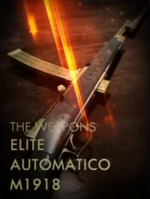 Elite Automatico M1918 Codex Entry