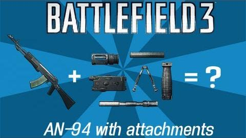 Battlefield 3 Review AN-94 and Attachments (BURST FIRE TESTED)