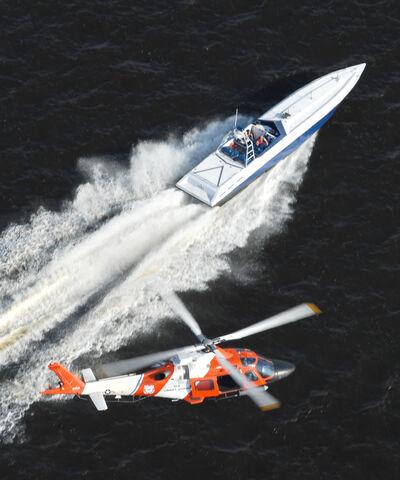 File:USCG pursuing gofast boat.jpg