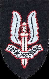 British SAS Insig WWII