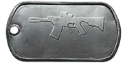 BF4 M26 MASS Master Dog Tag