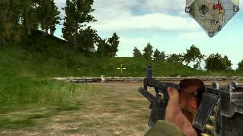 Battlefield Vietnam - Стрельба из РПД