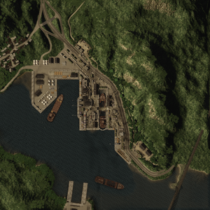 PanamaCanal map