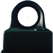 Battlefield 3 Red Dot Sight Render