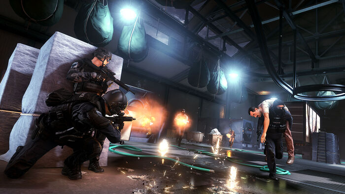 Battlefield Hardline 'Piggyback Rescue' Screenshot
