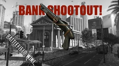 Battlefield Hardline Beta Gameplay Bank Shootout!