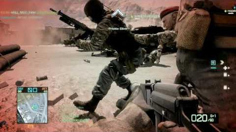 Battlefield Bad Company 2 Arica Harbor Gameplay