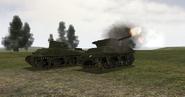 BF1942 WOLVERINE FIRING NEXT TO SHERMAN