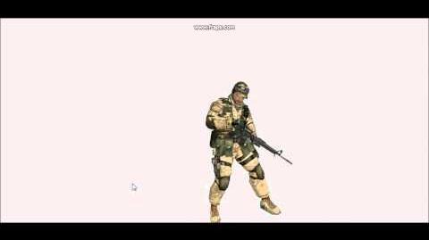 Battlefield 2 - M16 animations