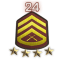Rank 24