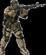 BF2 M16 Soldier