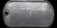 BF4 M16A4 Master Dog Tag