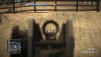 BFBC M16 Iron sights