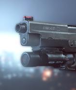 BF4 Tribeam Pistol