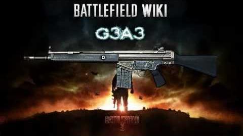 Battlefield 3 - G3A3 Sound