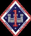 1ST CEB insignia