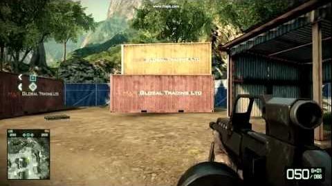 Battlefield Bad Company 2 - MG36