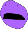 Purple Face talking 1
