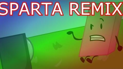 BFDI The Announcer has a Sparta Extended Remix