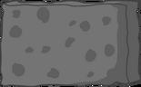 Metal spongy body