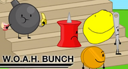 Yellow face In Woah Bunch