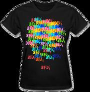 Rainbow BFDI T-Shirt Woman