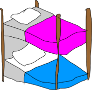 Bunkbed body