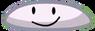 BFDI Character! White Frisbee