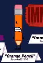 File:Orange Pencil.png