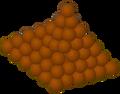 Chocolate Ball pile