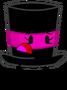 Magenta Top Hat Pose