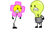 Lightbulb vs. Flower