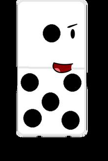 Domino pose 1