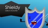 Shieldy deflects the battle!