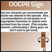 OOCPR Sign