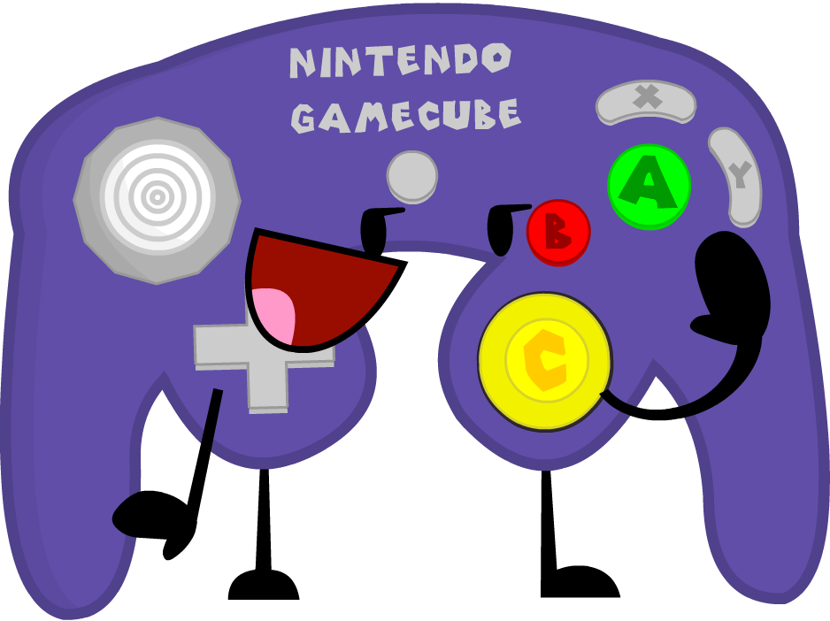 Image - EW GameCube Controller Pose.png | Object Shows ...
