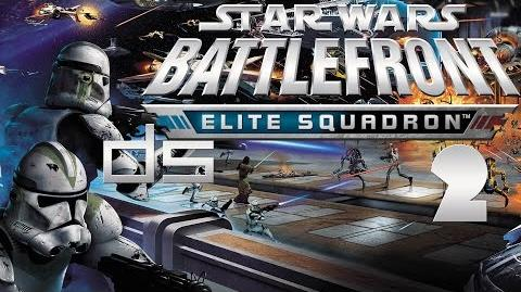 Star Wars Battlefront Elite Squadron 2- Coruscant DS Walkthrough