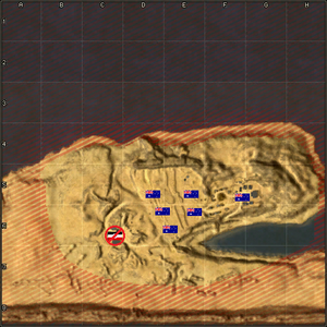 Tobruk map