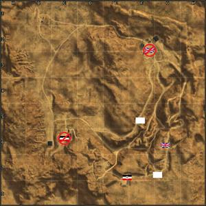 Gazala map