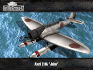 Aichi E13A Render
