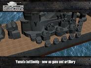Yamato-class battleship render 2