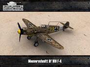 Messerschmitt Bf 109 F-4 render 2