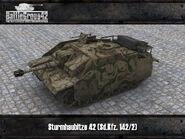 Sturmhaubitze 42 render