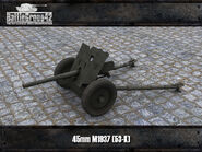 45mm M1937 (53-K) render
