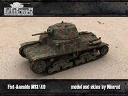 M13-40 Europe render