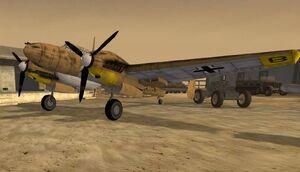 Bf110 37mm afr
